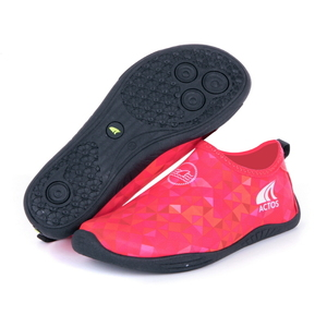 Injection Aquashoes Polygon Red