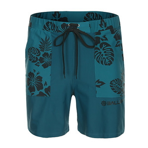 Hawaian Boardshort Men Green
