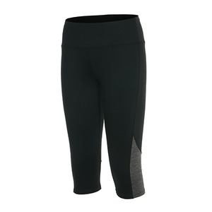 Croppants Active_wear Mini Black