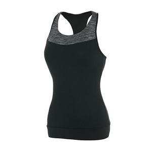 Sleeveless Active_wear Space Black