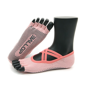 Jamsocks Yogasocks Twin Pink