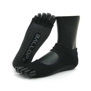Jamsocks Yogasocks Felics Black
