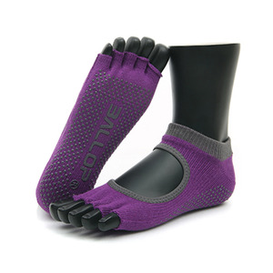 Jamsocks Yogasocks Felics Purple