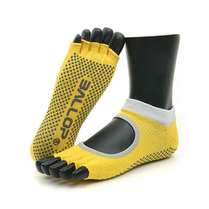 Jamsocks Yogasocks Felics Yellow