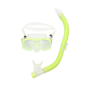 Snorkeling Mask Kids Lime