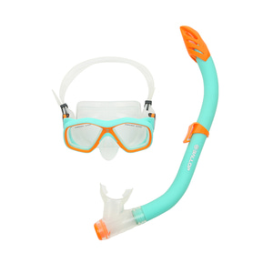 Snorkeling Mask Kids Orange