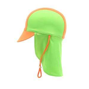 Child Flapcap Orange