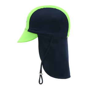 Child Flapcap Navy