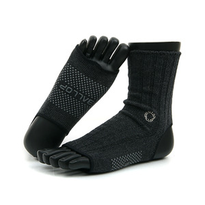 Jamwarmer Yogasocks Ankle Black