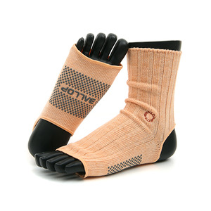Jamwamer Yogasocks Ankle Orange