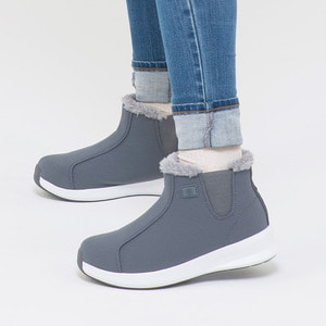 Warm Sneakers Ankle Gray